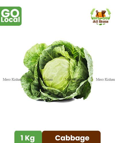 Cabbage - बन्दा (1 Kg)