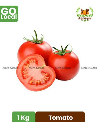 Tomato (1 Kg) - गोलभेडा (१ केजी)