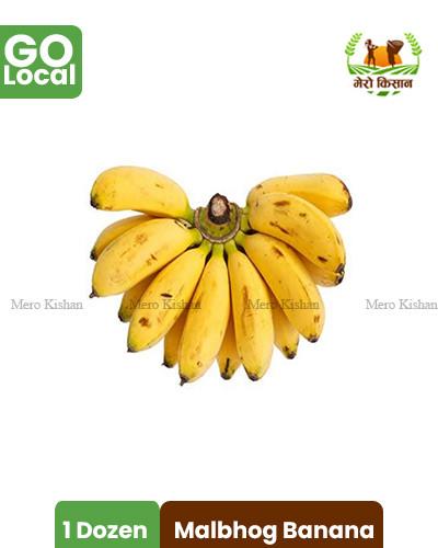 Malbhog Banana - मालभोग केरा
