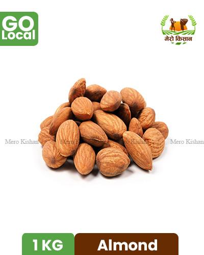 Almond - मधेशी बदाम (200 gm)